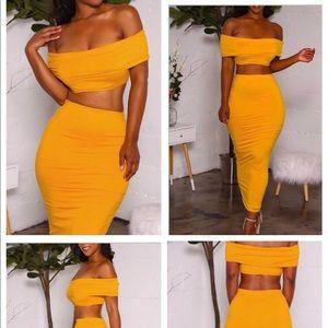 Other - 2 piece skirt set